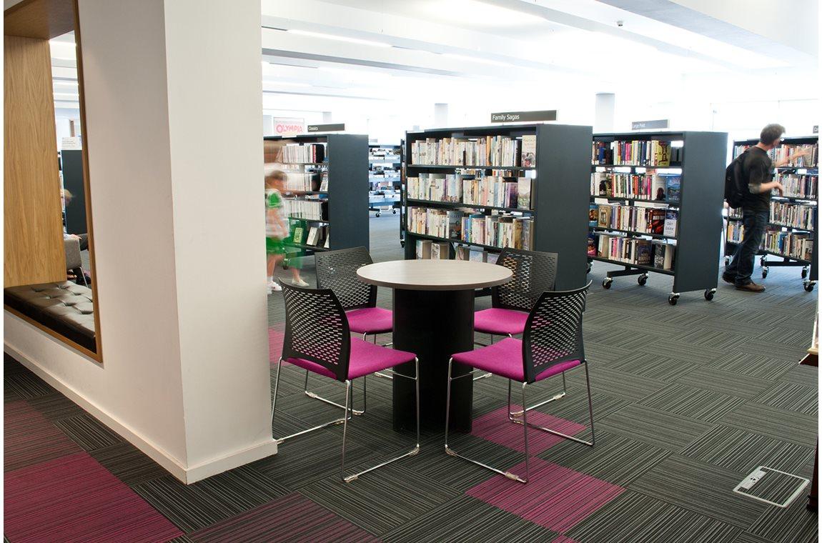 Bridgeton bibliotek, Glasgow, Storbritannien - Offentliga bibliotek