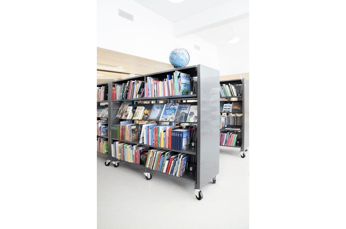 Biblioteket Kilden, Kildegaardskolen, Danemark -