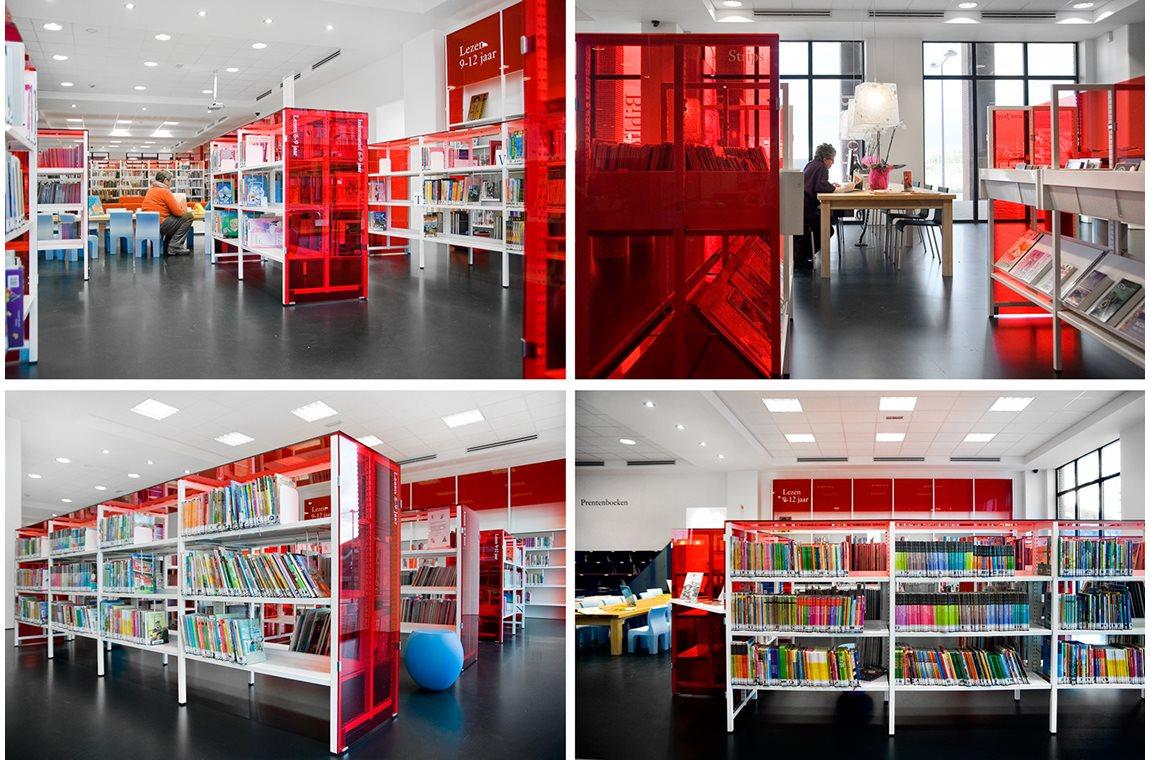 Leidschenveen bibliotek, Holland - Offentligt bibliotek