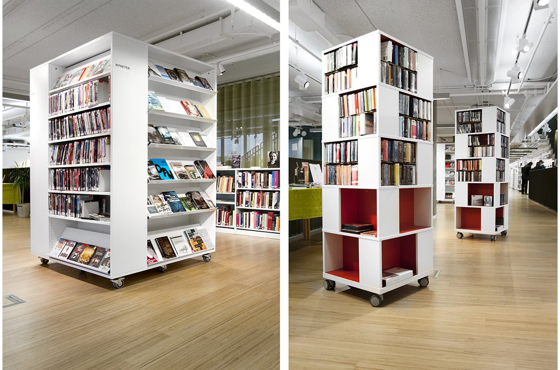 Bibliothèque municipale de Kungsaengen, Suède - Bibliothèque municipale