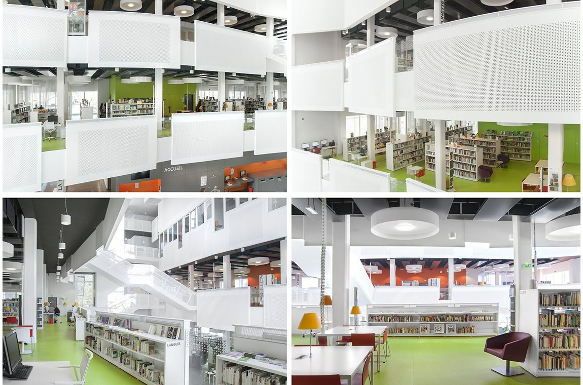 Jean Prévost Public Library, Bron, France - Public libraries