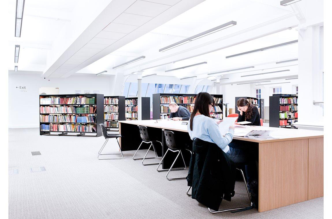 La bibliothèque principale de Manchester, Royaume-Uni - Bibliothèque municipale