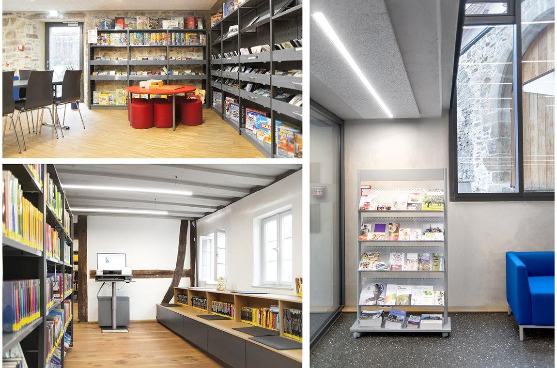 Bibliothèque municpale d'Ehningen, Allemagne - Bibliothèque municipale