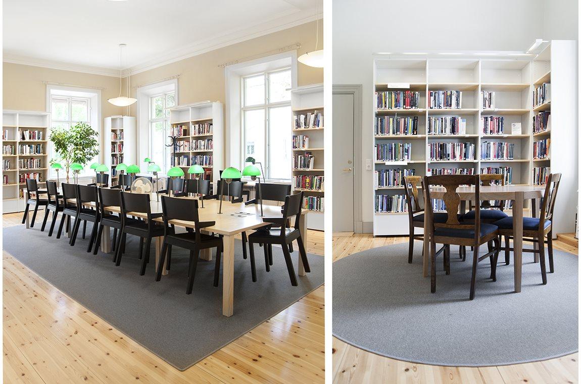 Uppsala Academic Library, Sweden - Academic libraries