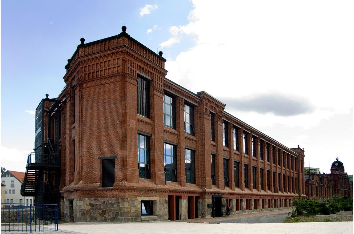 Flöha bibliotek, Tyskland - Offentligt bibliotek