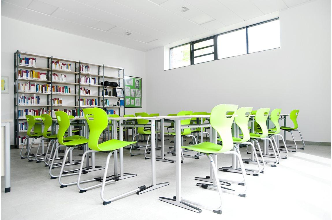 Casanus skolbibliotek, Wittlich, Tyskland - Skolbibliotek