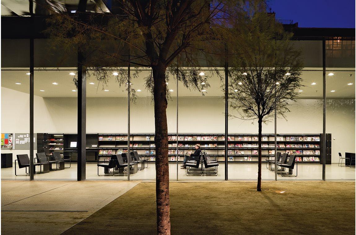 Sant Antoni bibliotek, Spanien - Offentligt bibliotek