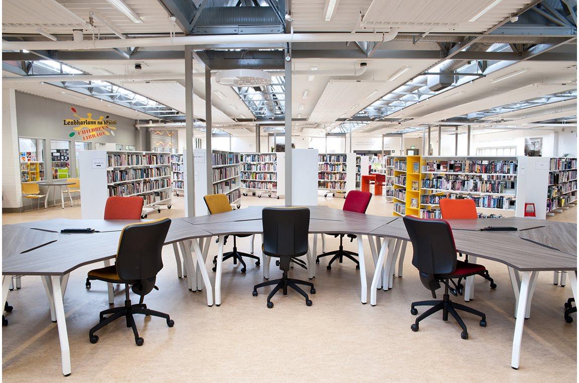 Ballyfermot bibliotek, Irland - Offentligt bibliotek