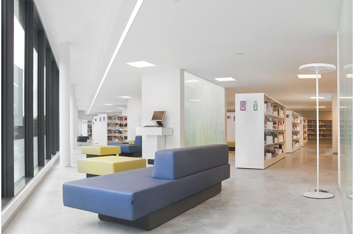 Bibliothèque municipale de Wilrijk, Belgique - Bibliothèque municipale