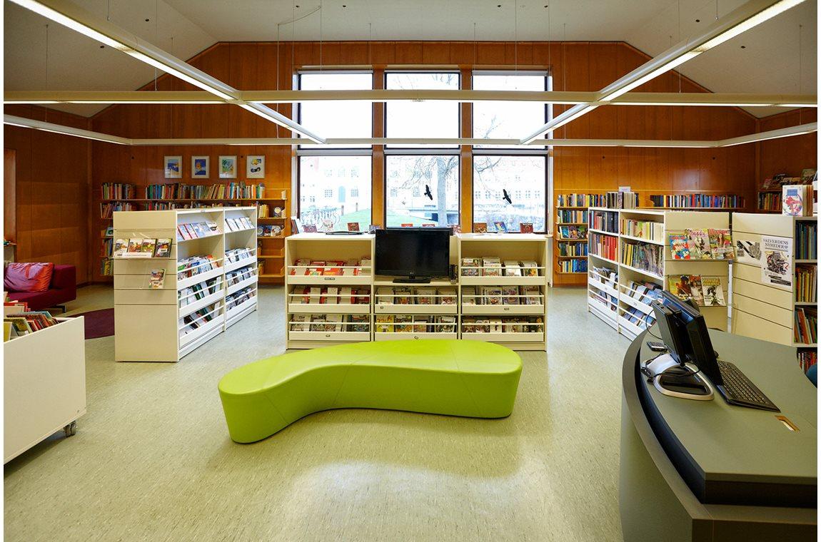 Openbare bibliotheek Nyborg, Denemarken - Openbare bibliotheek