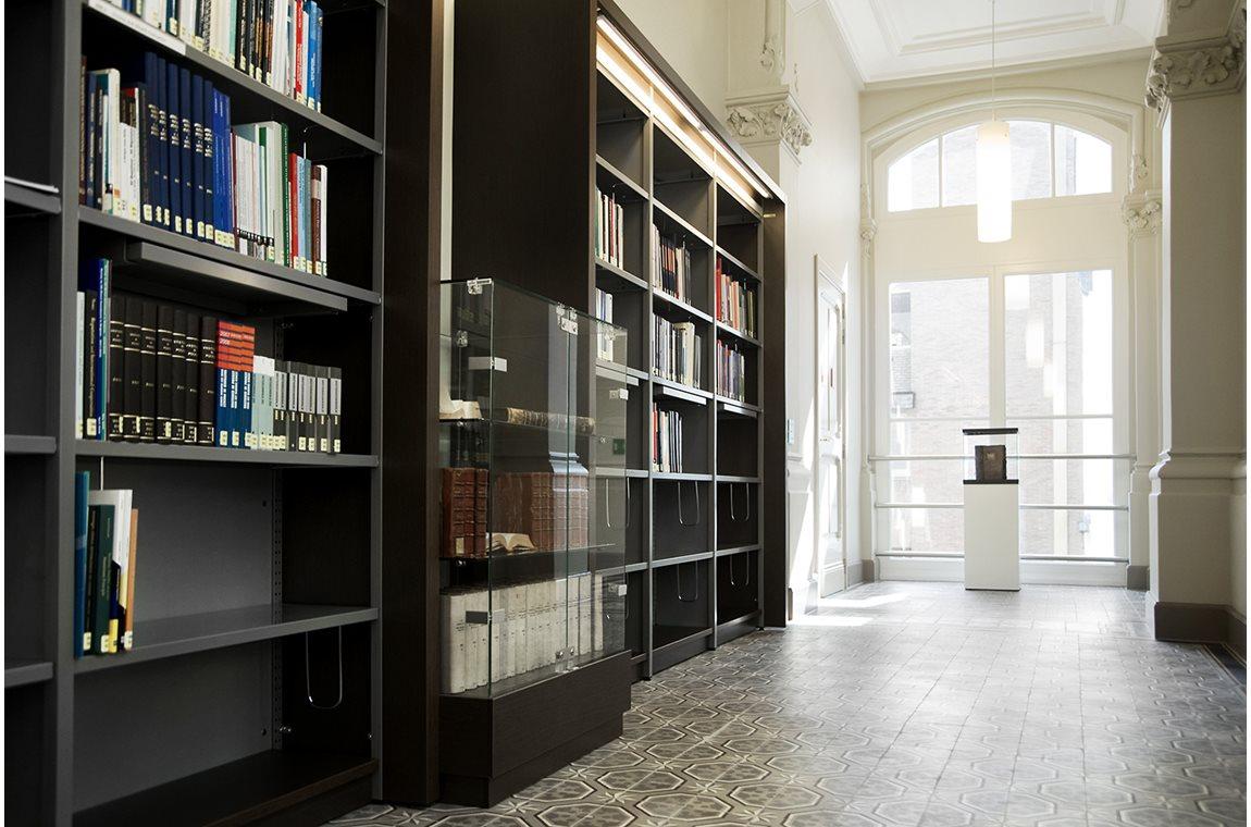 Nationalbanken i Brussel, Belgien - Virksomhedsbibliotek
