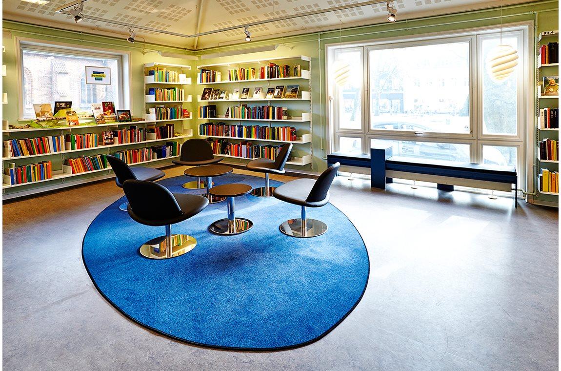 Bibliothèque municipale de Køge, Danemark - Bibliothèque municipale