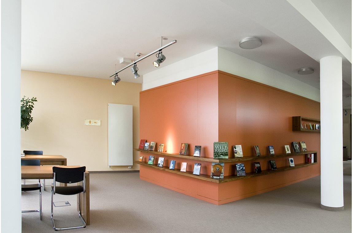 Pulheim bibliotek, Tyskland - Offentligt bibliotek