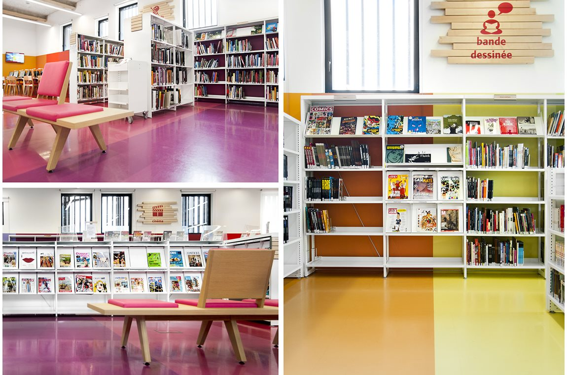 Angoulême Public Library, France - Public libraries
