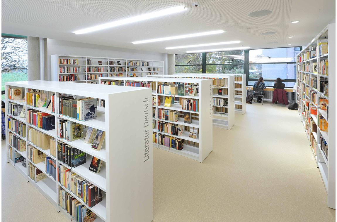 Zofingen High School, Switzerland - School libraries