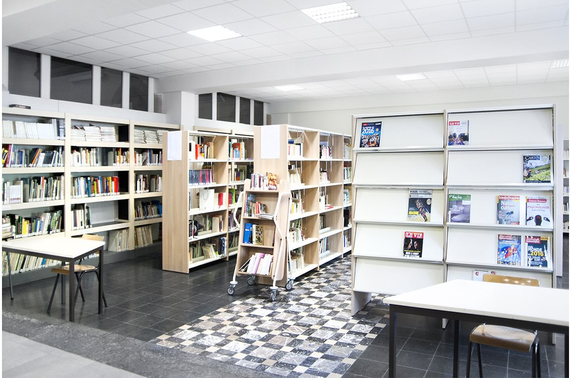 INDSé school library, Bastogne, Belgium - School libraries