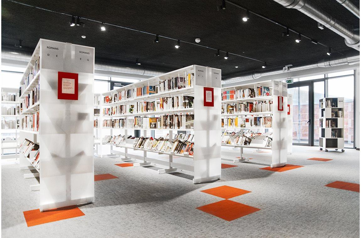 Bibliothèque municipale de Tervuren, Belgique  - Bibliothèque municipale