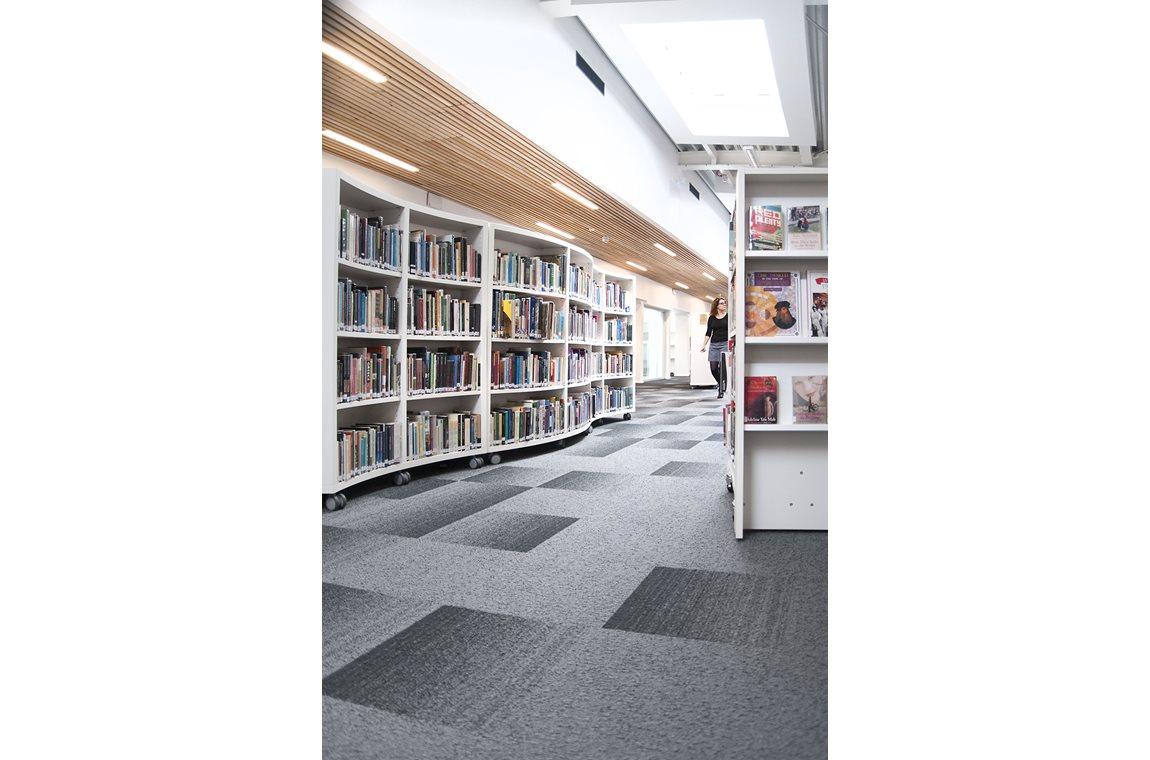 Haberdashers' Aske's Skole for piger, Hertfordshire, UK - Skolebibliotek