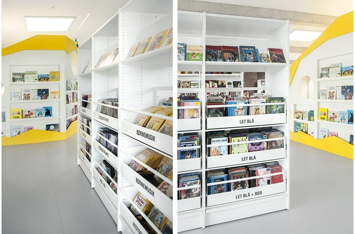 Billund Public Library, Denmark - Public libraries