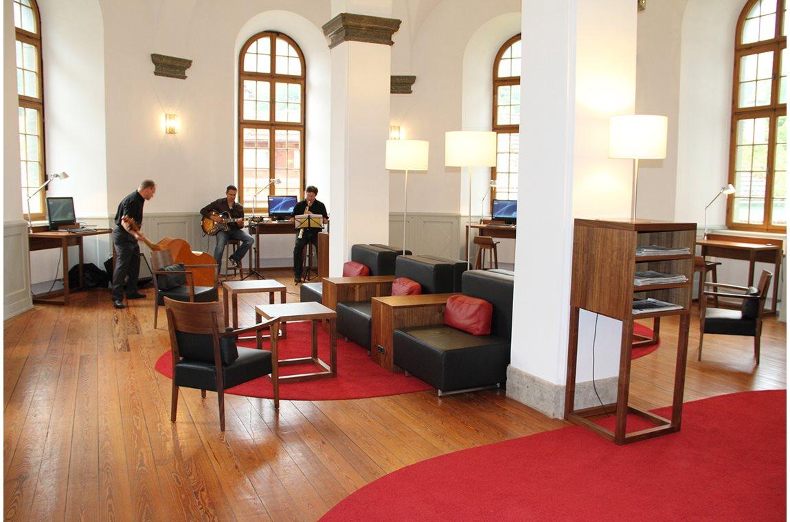Füssen bibliotek, Tyskland - Offentligt bibliotek