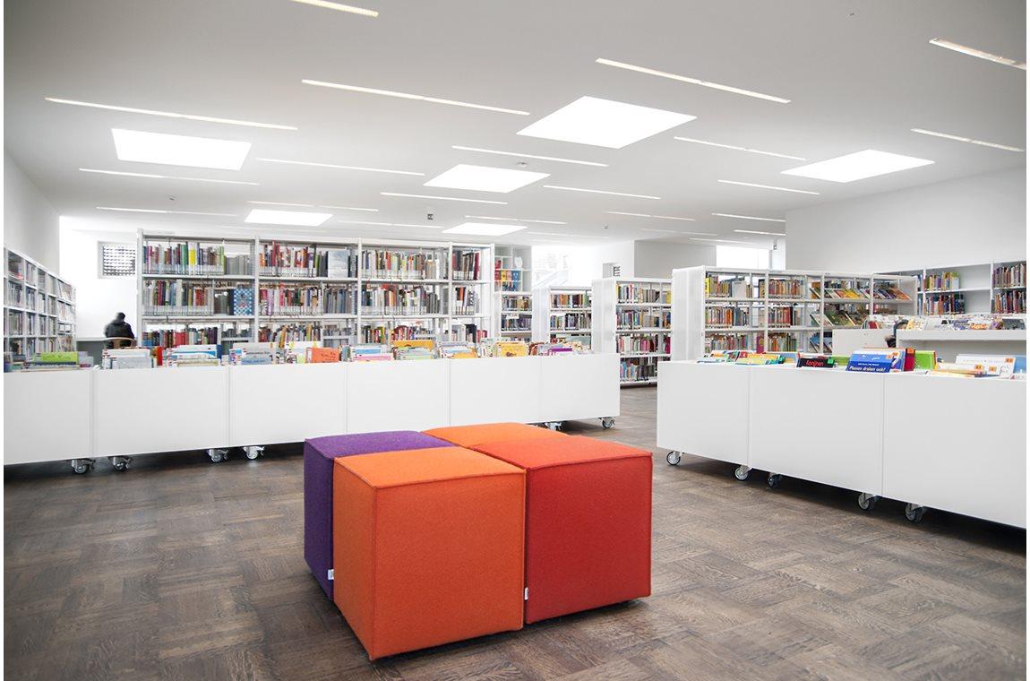 Bibliothèque municipale de Sint-Andries - Stad Brugge, Belgique - Bibliothèque municipale