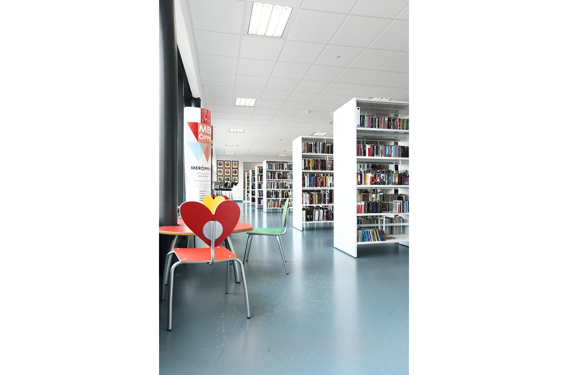 Openbare bibliotheek Jonstorp, Zweden - Openbare bibliotheek