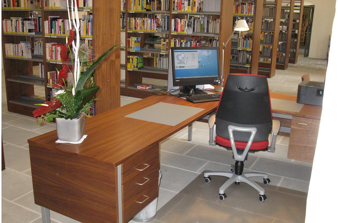 Openbare bibliotheek Füssen, Duitsland - Openbare bibliotheek