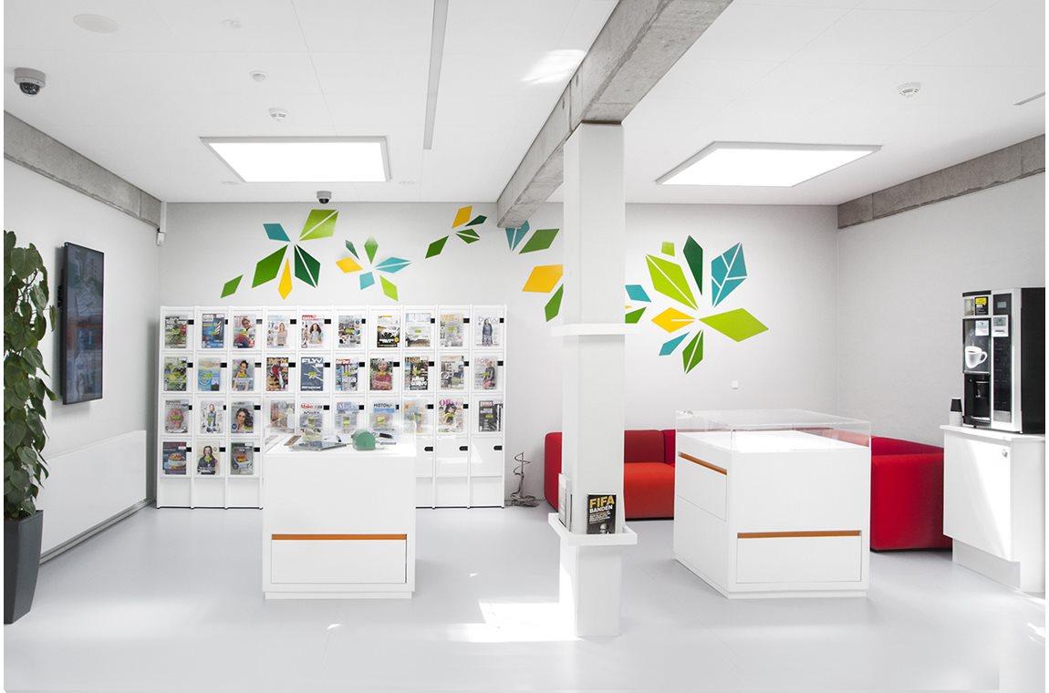 Ordrup Magazine Display Cabinet
