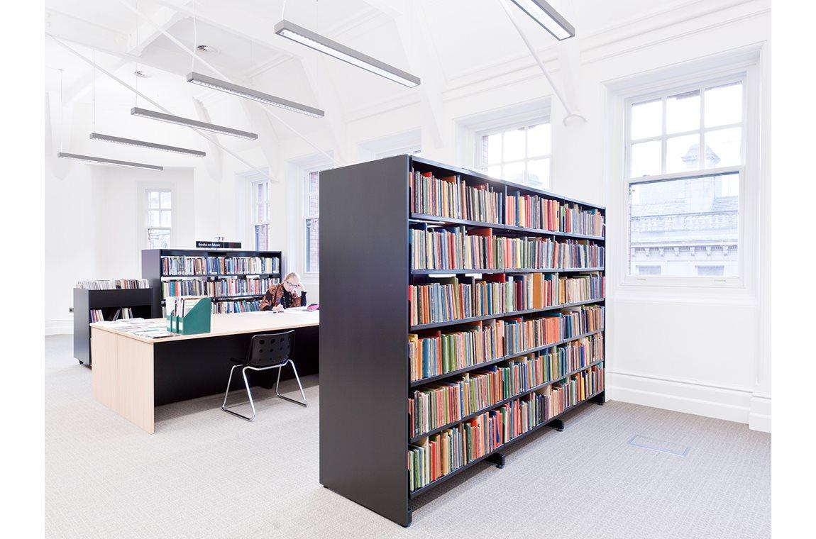 Manchester Centralbibliotek, Storbritannien - Offentligt bibliotek