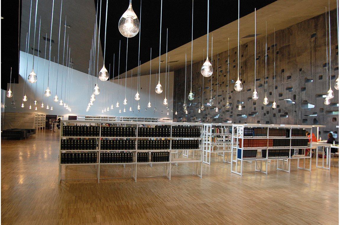 Openbare bibliotheek Tenerife, Spanje - Openbare bibliotheek