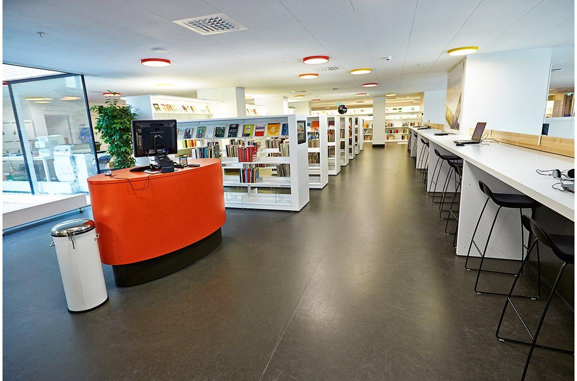 Ørestad Bibliotek, Danmark - Offentligt bibliotek