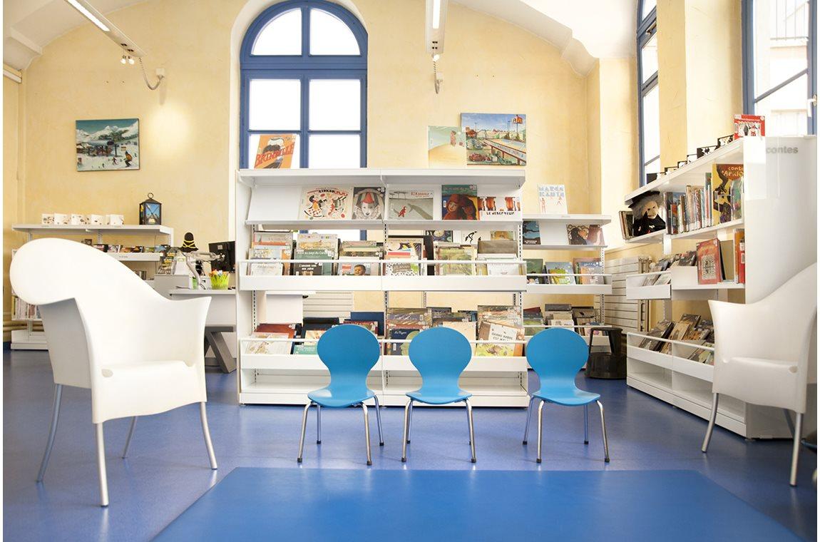 Lyon 1er Bibliotek, Frankrig - Offentligt bibliotek