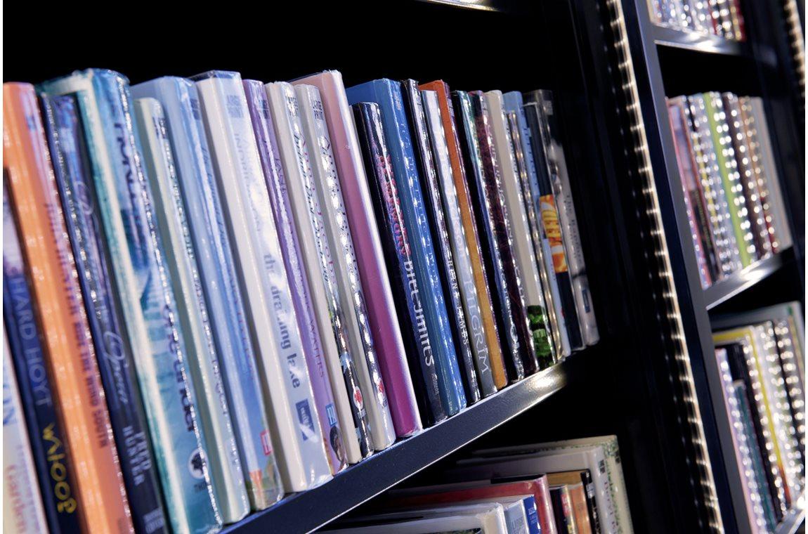 Bibliothèque municipale d'Eccles, Royaume-Uni - Bibliothèque municipale