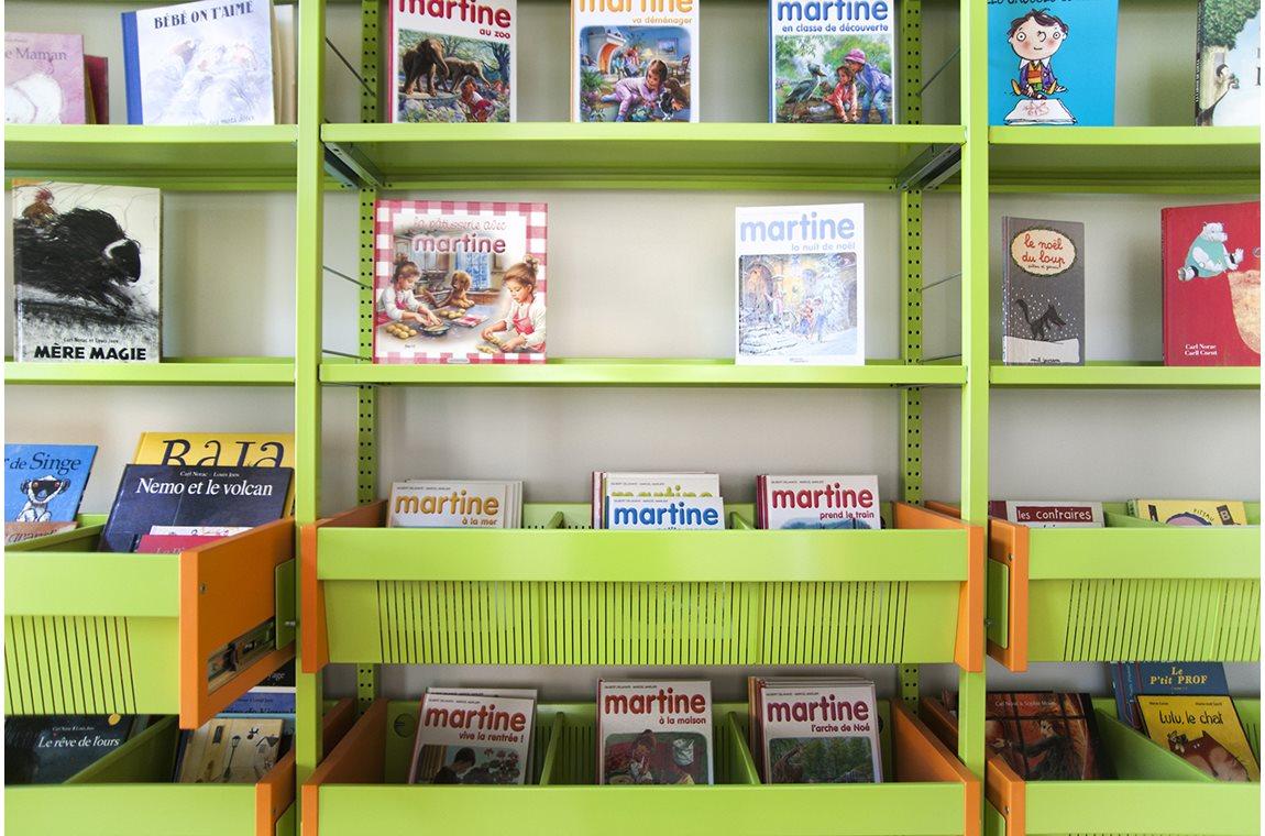 Bibliothèque municipale de Mons, Belgique - Bibliothèque municipale