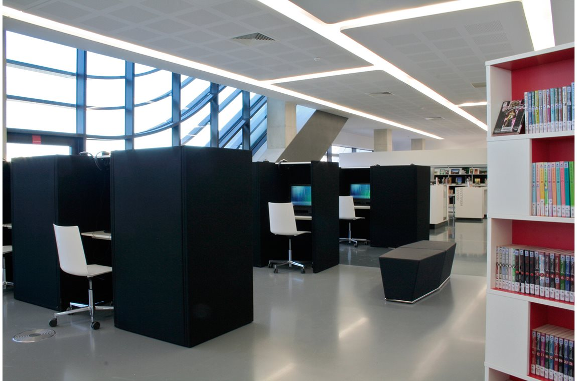 Montpellier Public Library, France - Public libraries