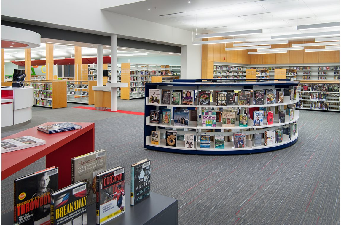North Nanaimo Library, Vancouver Island, Canada - Public libraries