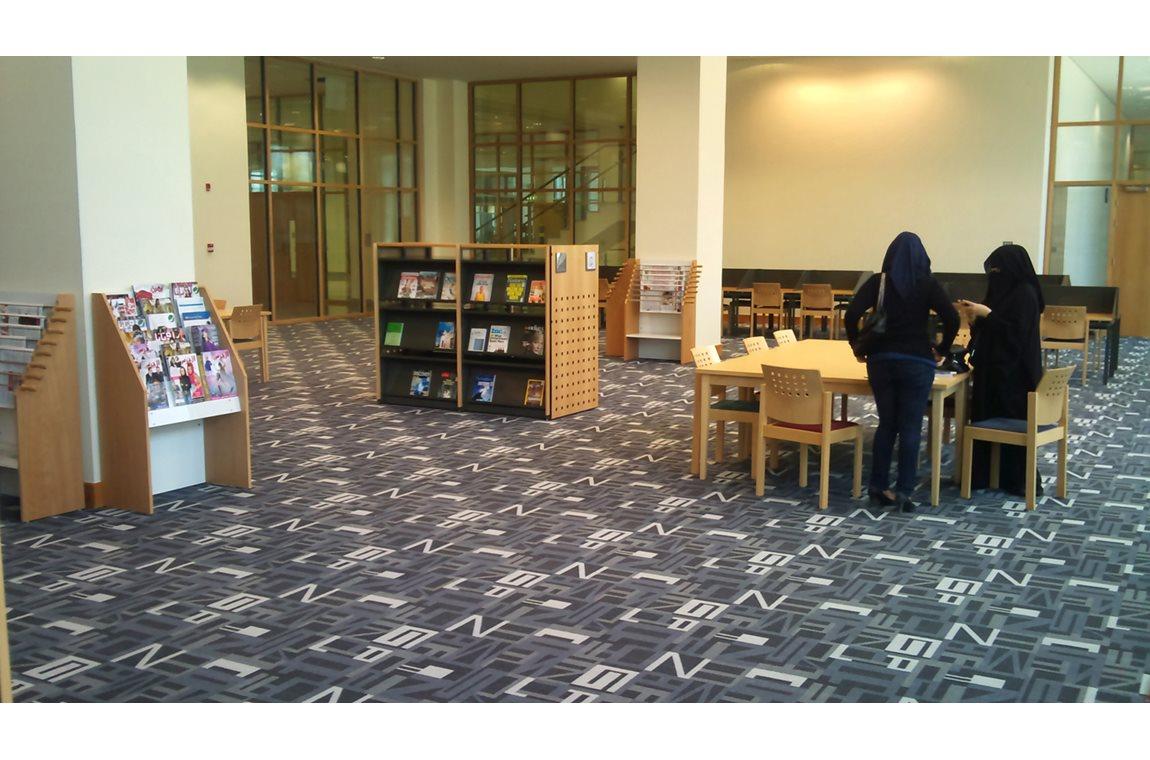 Wetenschappelijke bibliotheek Doha, Katar - Wetenschappelijke bibliotheek