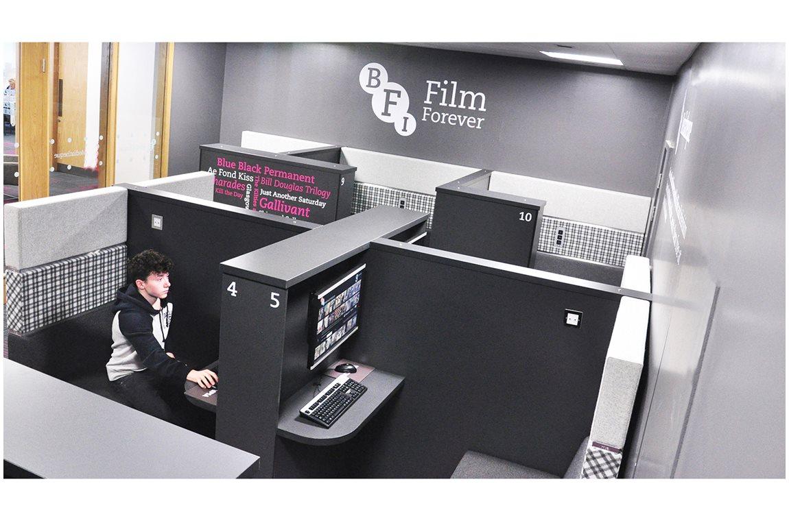 Bridgeton Bibliotheek & BFI Mediatheek, Glasgow, Verenigd Koninkrijk - Openbare bibliotheek