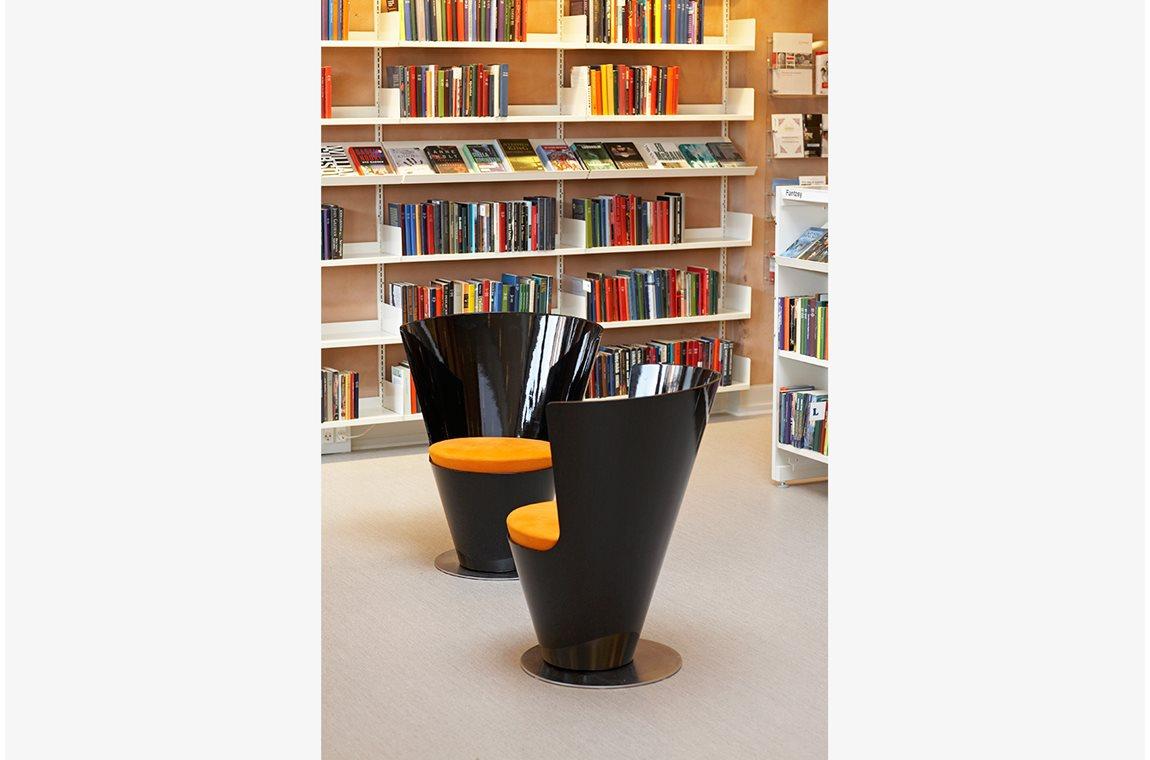 Bibliothèque municipale de Jyderup, Danemark - Bibliothèque municipale