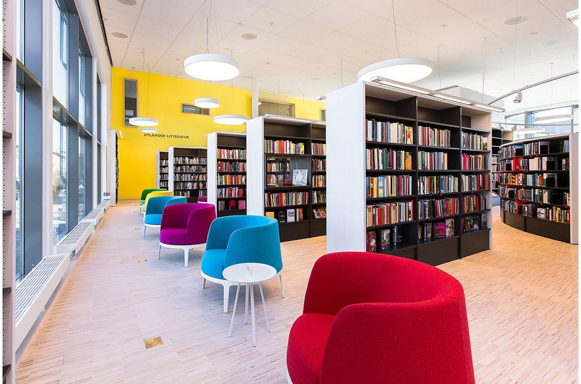 Bibliothèque municipale de Vallentuna, Suède - Bibliothèque municipale