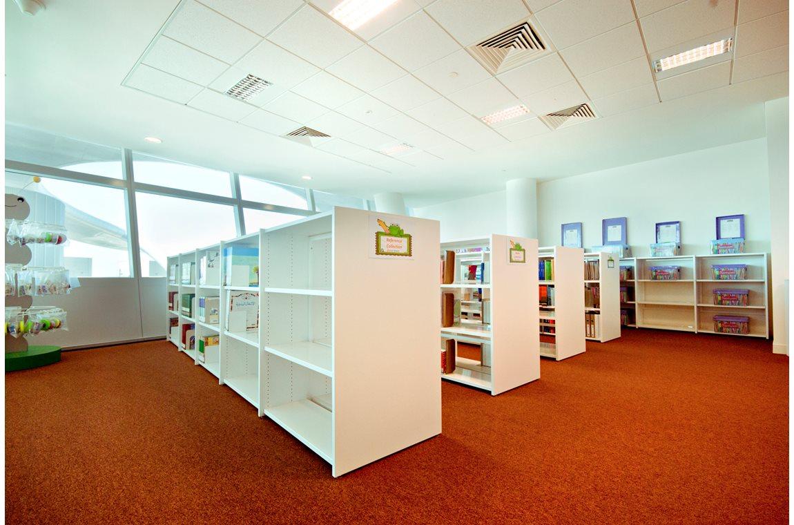 Zayed universitetsbibliotek, Forenede Arabiske Emirater - Akademisk bibliotek