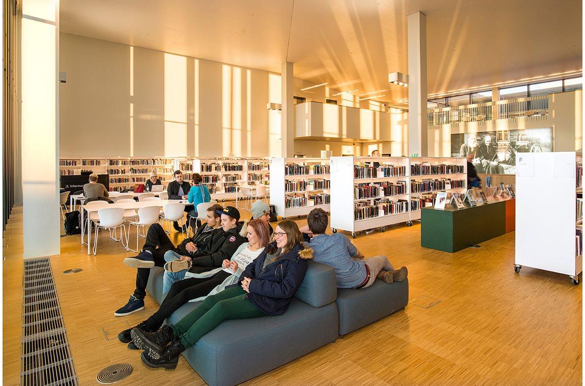 Stormen bibliotek i Bodø, Norge - Offentligt bibliotek
