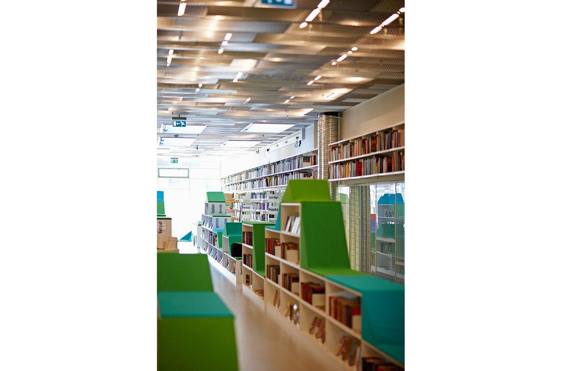 Bibliothèque municipale d'Ordrup, Danemark - Bibliothèque municipale