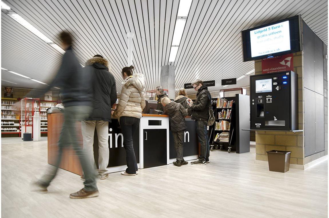 Bibliothèque municipale d'Izegem - Bibliothèque municipale