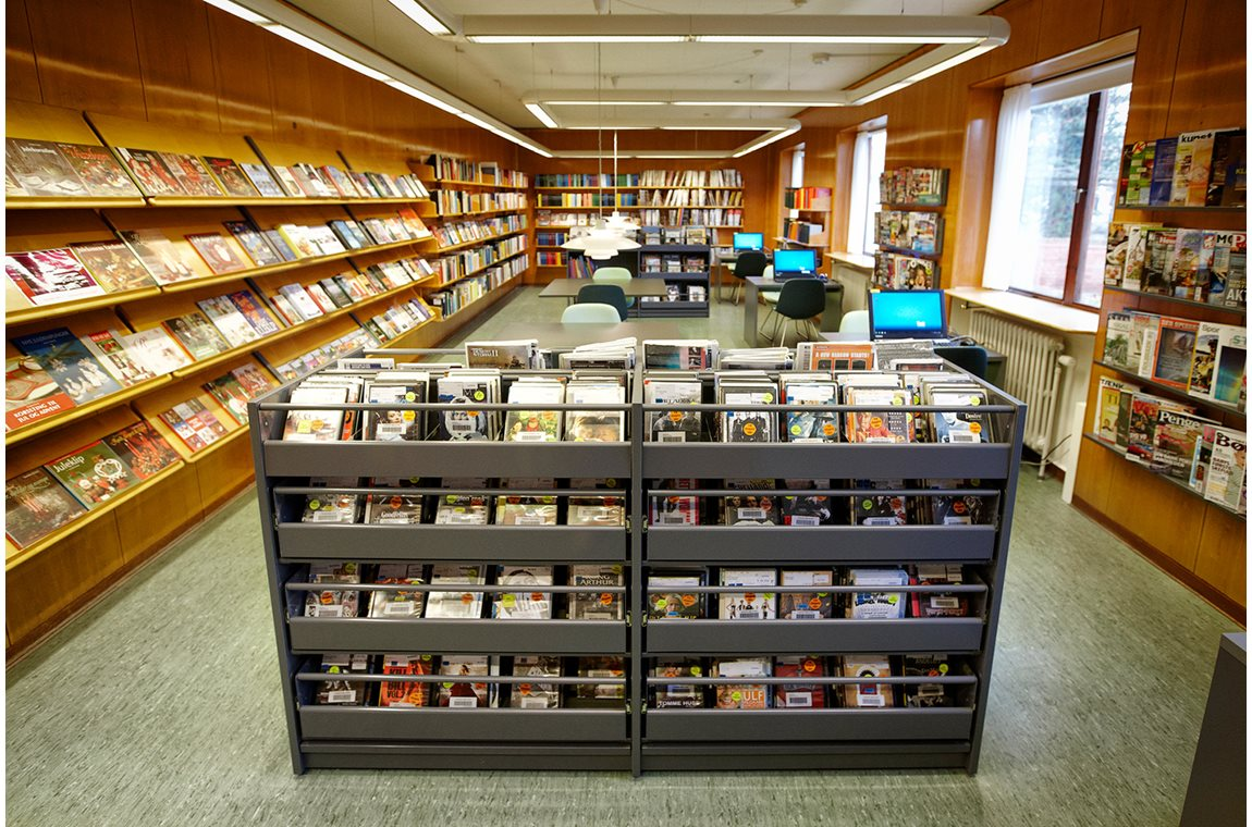 Bibliothèque municipale de Nyborg, Danemark - Bibliothèque municipale