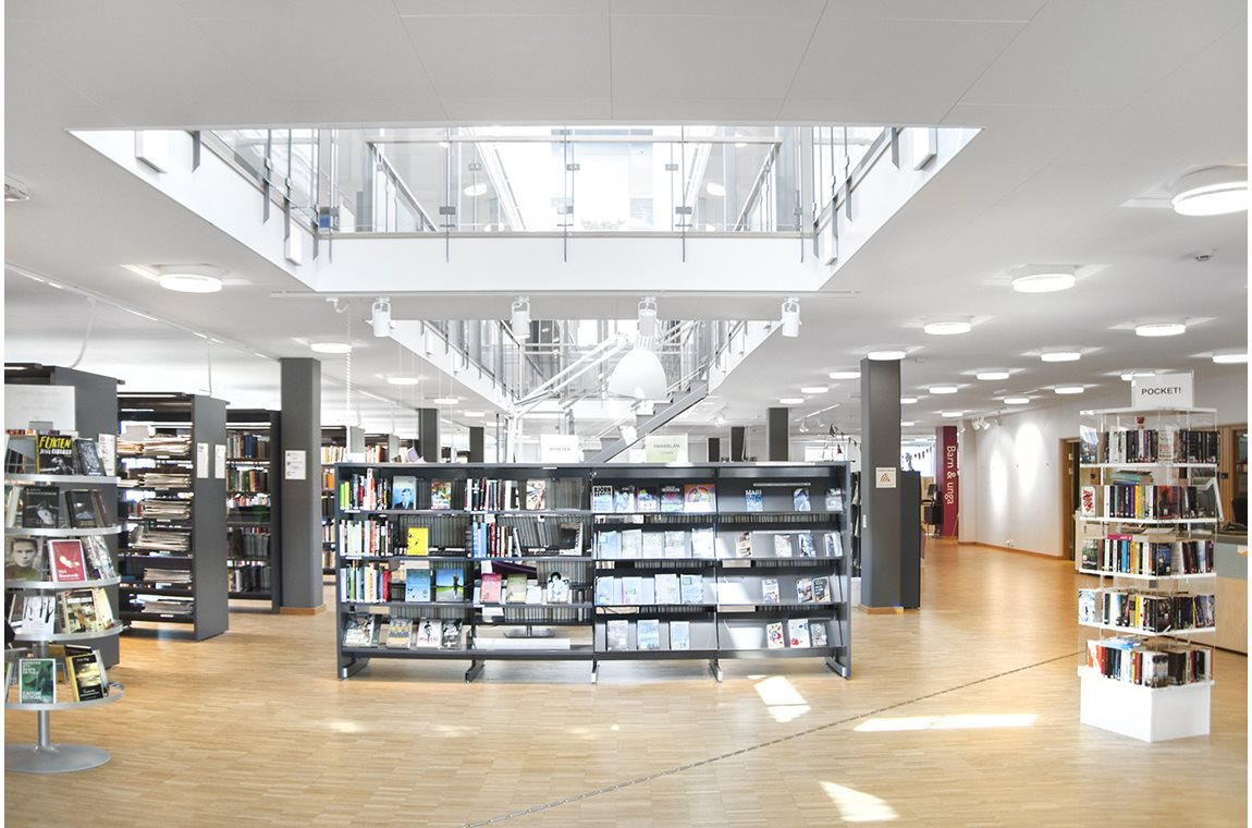 Sundsgymnasiet, Vellinge, Sweden - School libraries