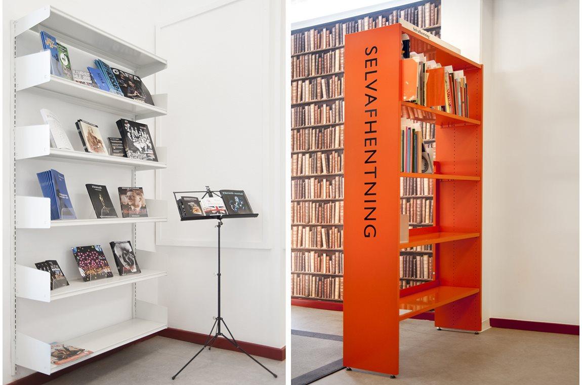 Öffentliche Bibliothek Svinninge, Dänemark  - Öffentliche Bibliothek