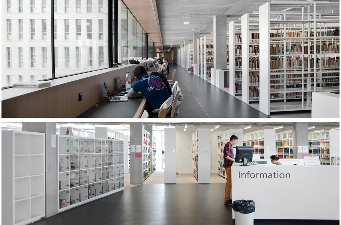 Darmstadt University and State Library, Germany  - Academic libraries