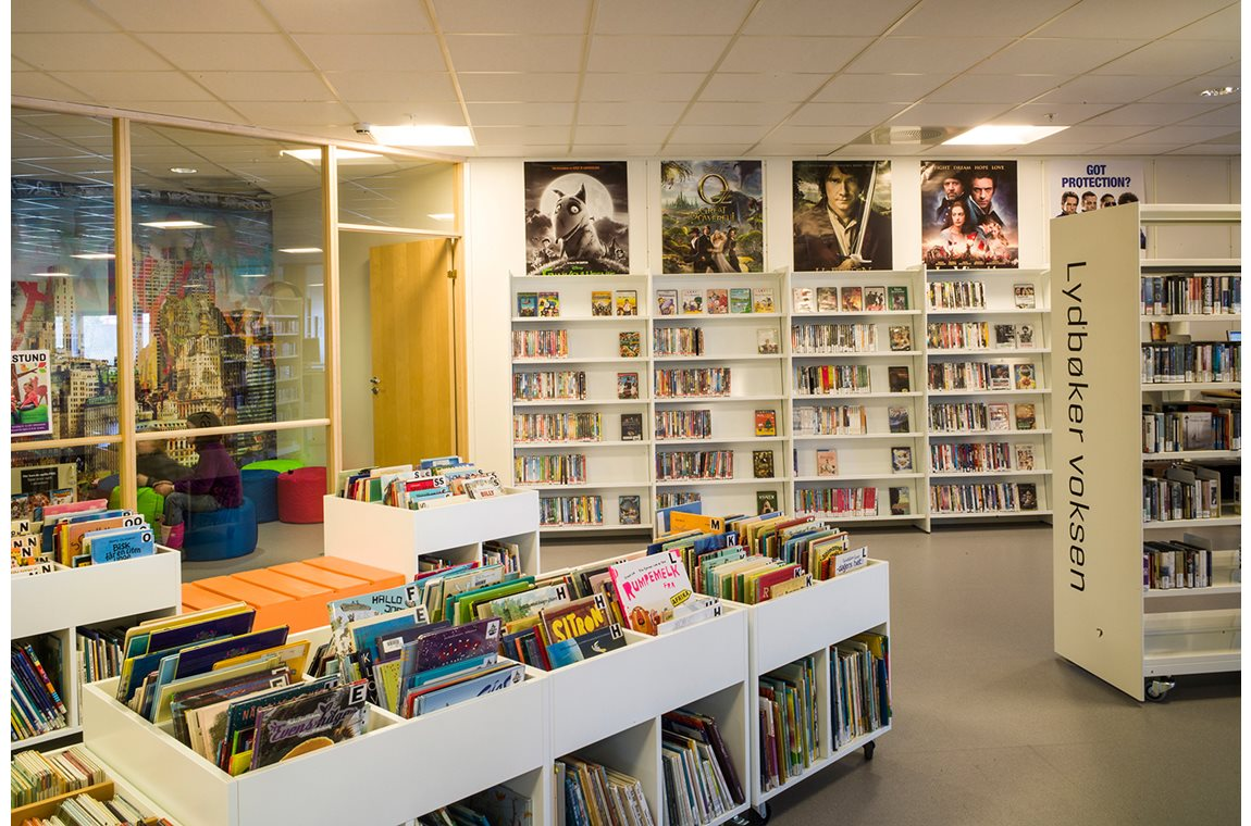 Nes Public Library, Norway - Public libraries