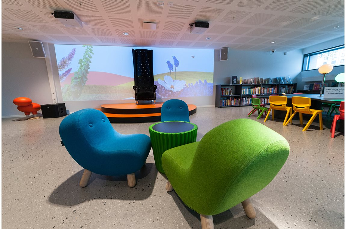 Narvik Bibliotek, Norge - Offentligt bibliotek
